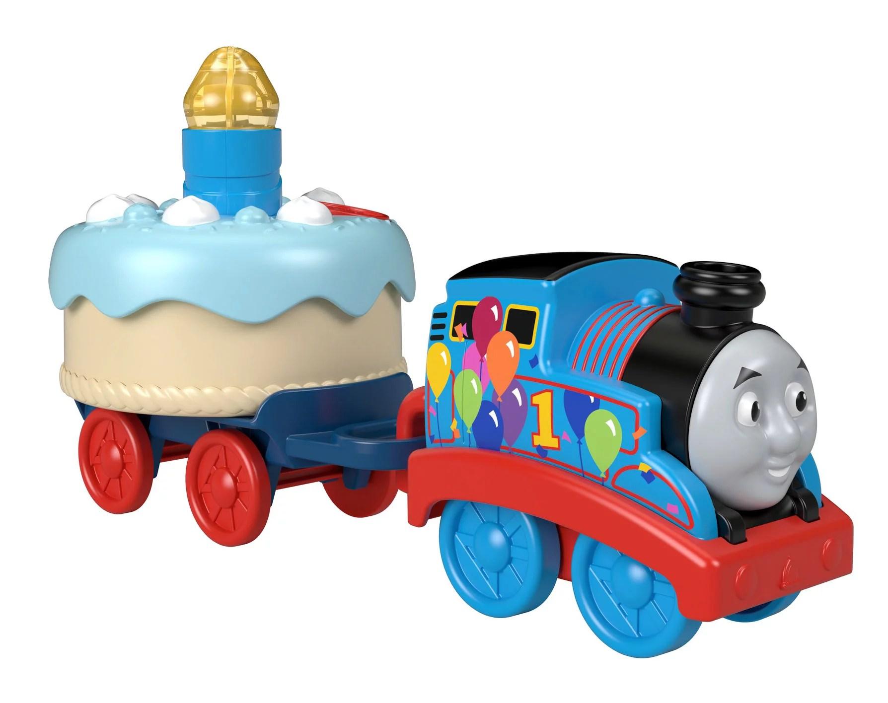 Thomas Friends Birthday Wish Thomas Musical Push Along Toy Train Walmart Com Walmart Com