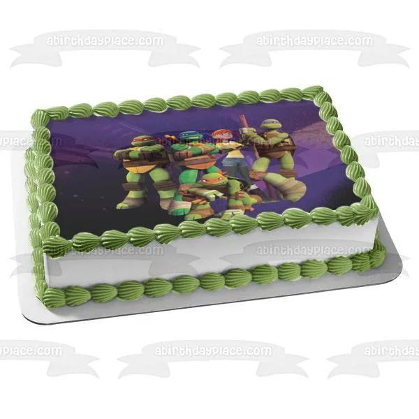 12 X Teenage Mutant Ninja Turtles Tmnt Cupcakes Jelly Cup Topper Birthday Party