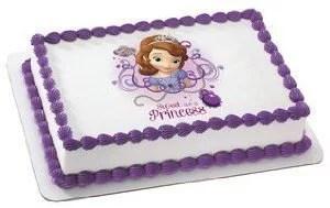 Sofia The First Edible Image Cake Cupcake And Cookie Topper Walmart Com Walmart Com
