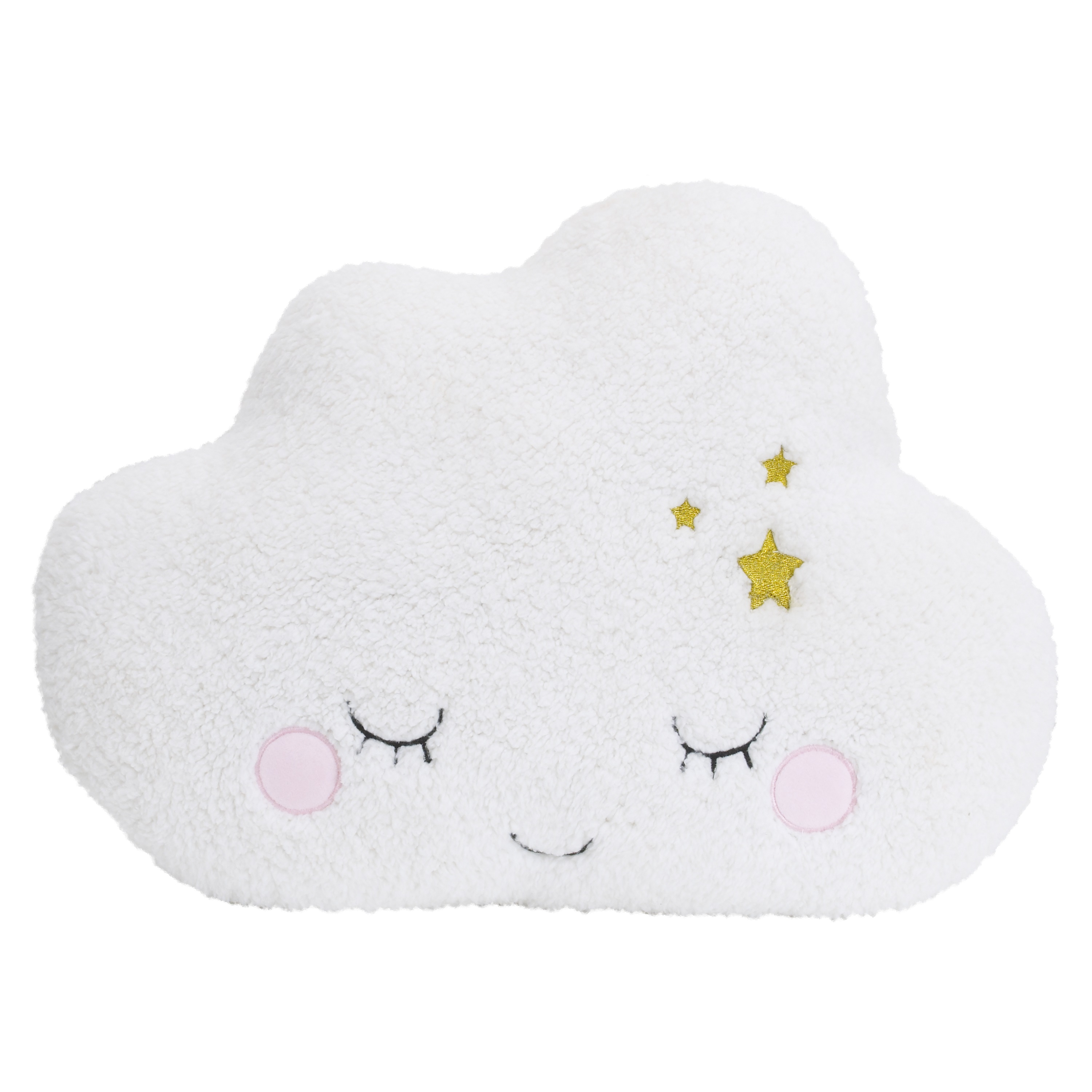 little love by nojo cloud shaped infant and toddler decorative pillow