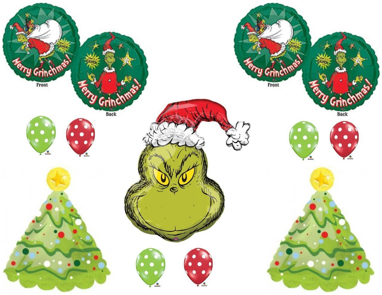 how the grinch stole christmas party balloons birthday decorations dr seuss walmart com