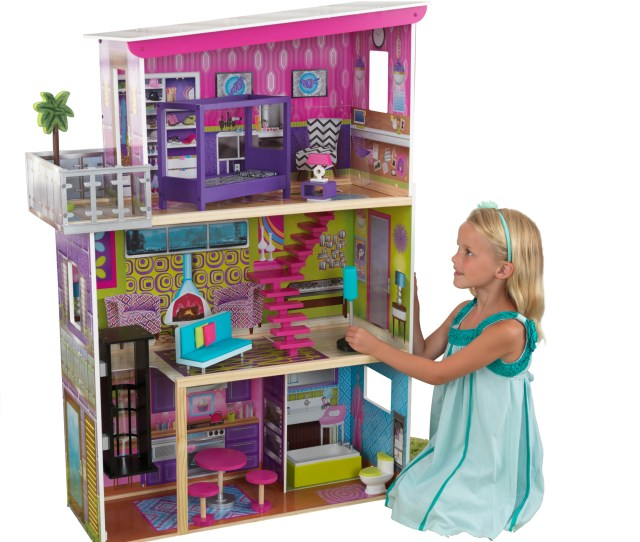 Kidkraft Super Model Dollhouse With  Accessories Included