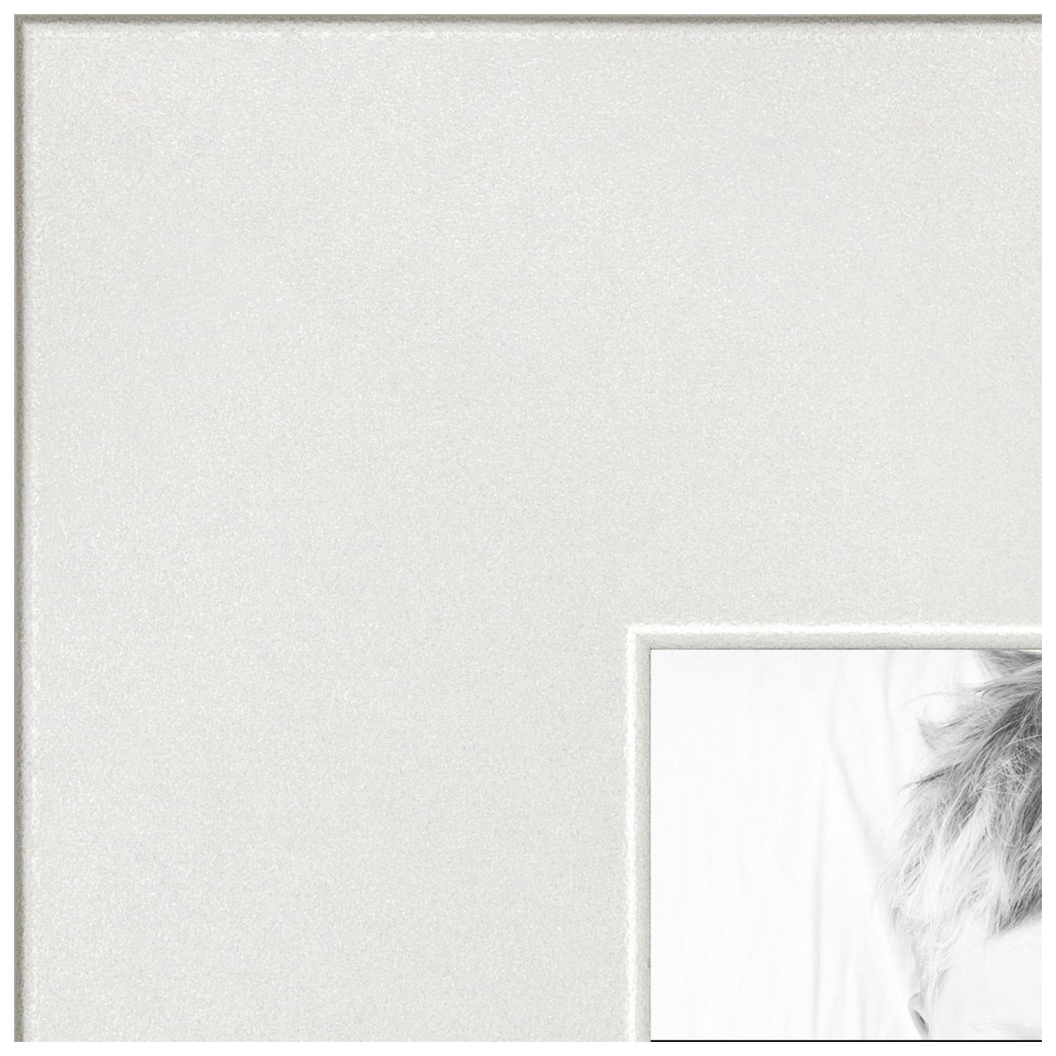 arttoframes 16x24 inch white picture frame this white mdf poster frame is great for your art or photos comes with styrene 3966