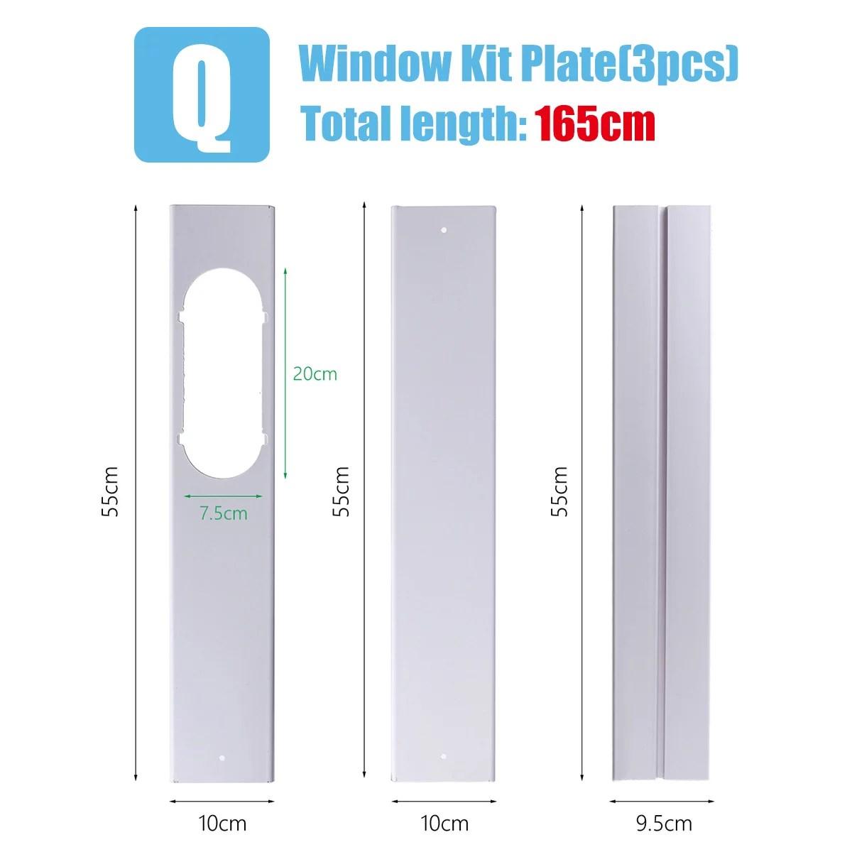 portable air conditioner window adaptor air conditioner window vent kit