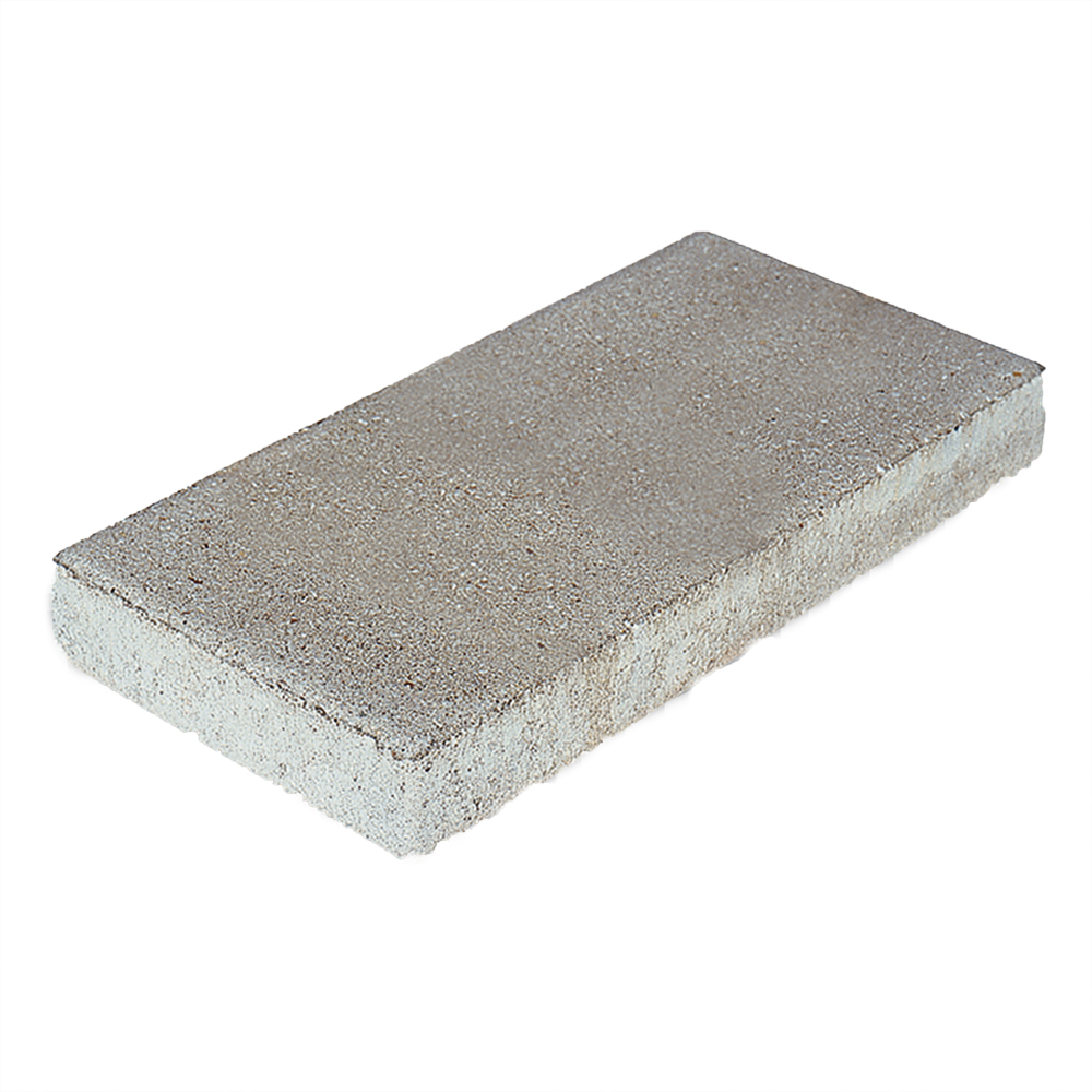pavestone 2 x8 x16 slab pewter grey concrete stepping stone