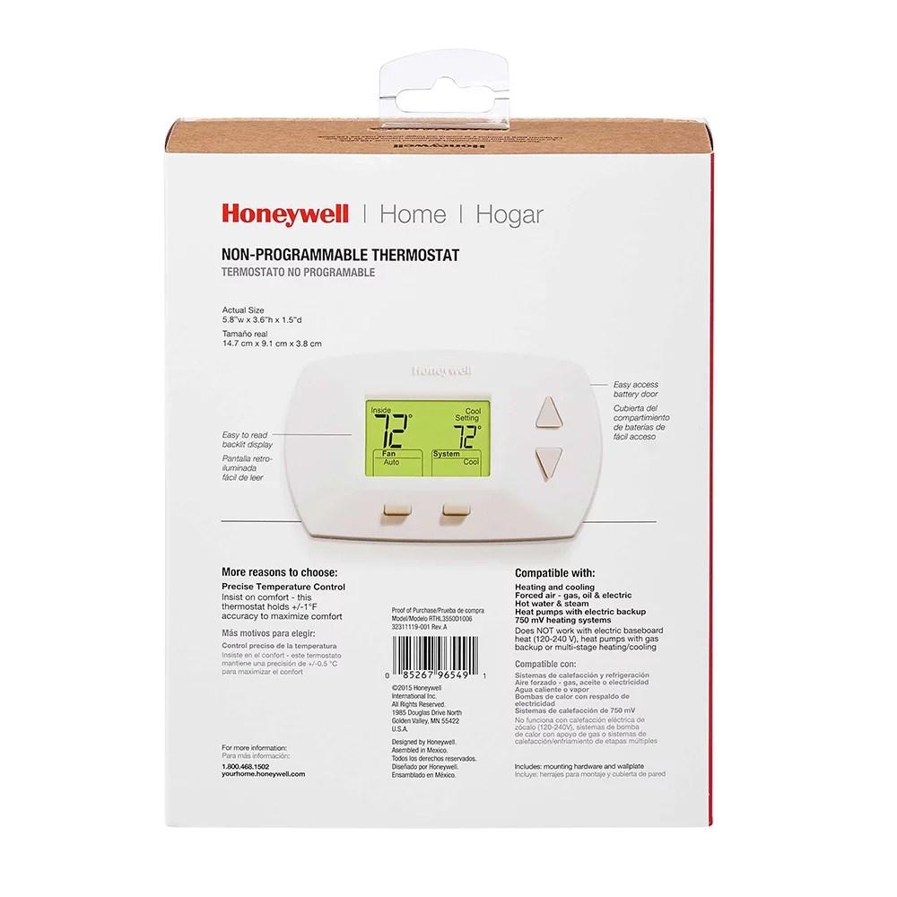 honeywell 5 1 1 programmable thermostat manual