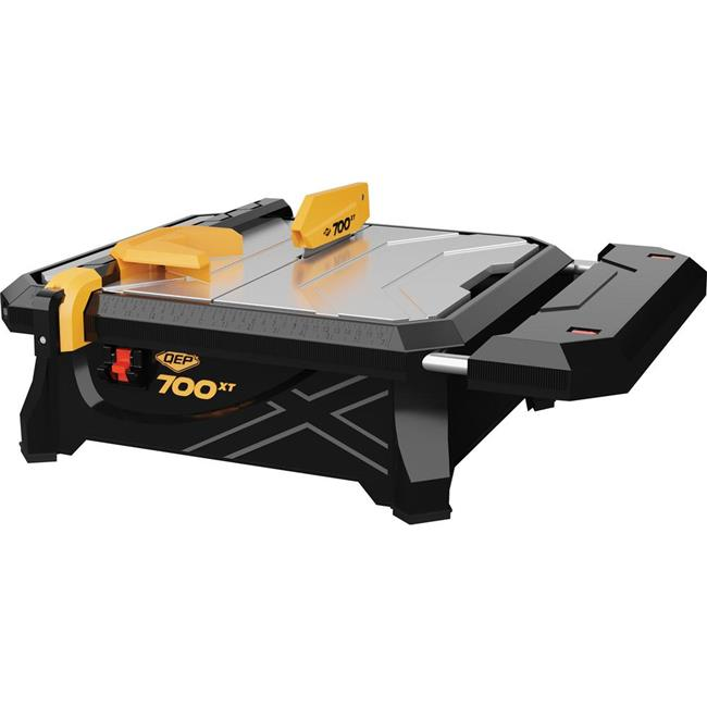 qep 22700q 7 in 700xt wet tile saw with table extension
