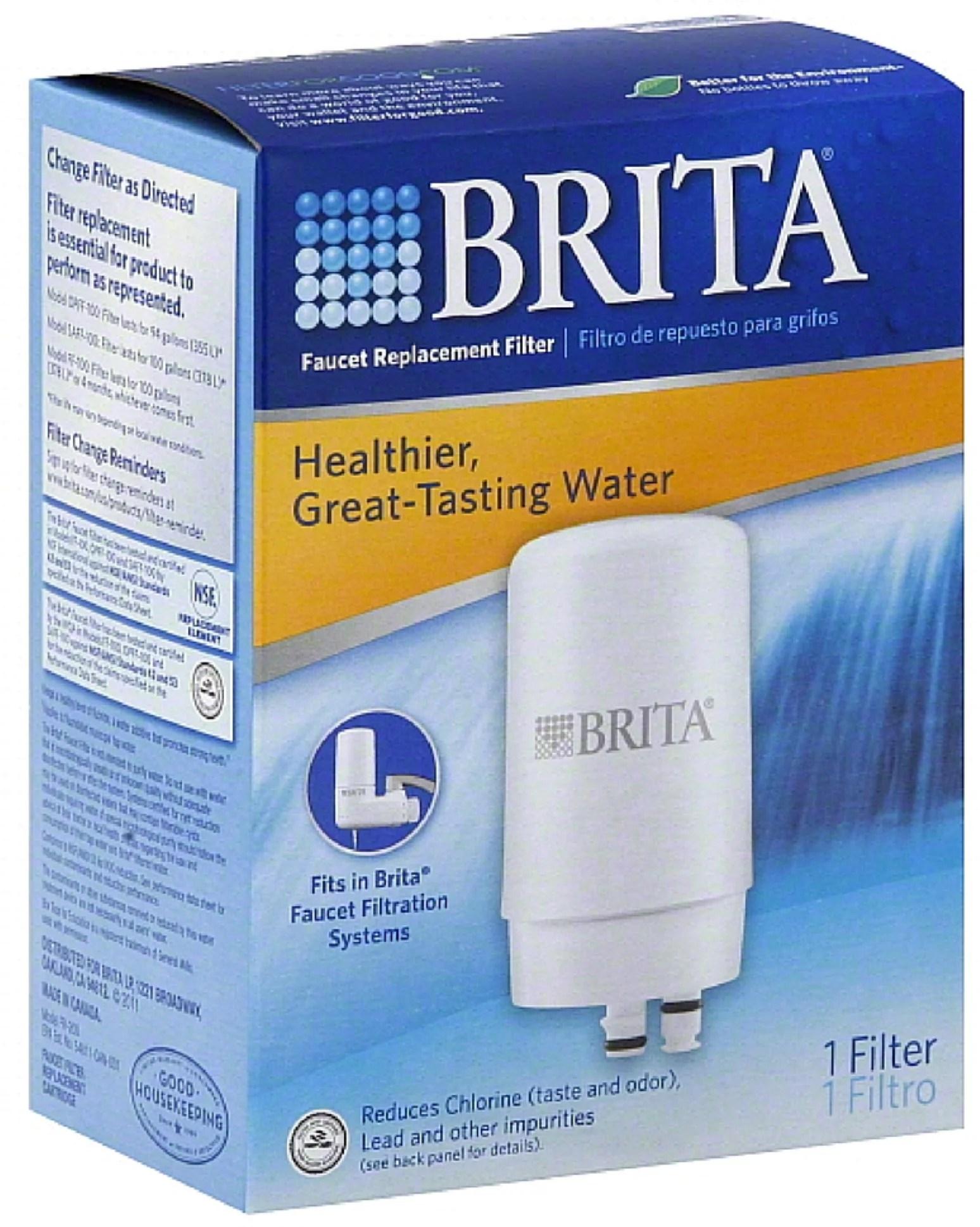 3 pack brita faucet replacement filter 1 ea