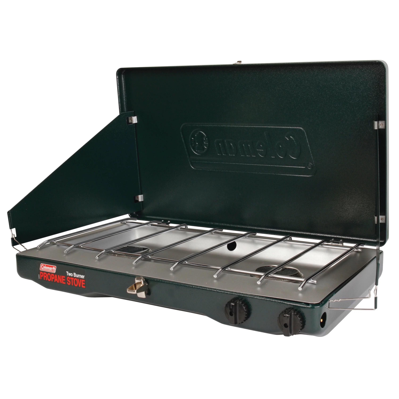 Coleman Portable Propane Gas Classic Stove With 2 Burners Walmart Com Walmart Com