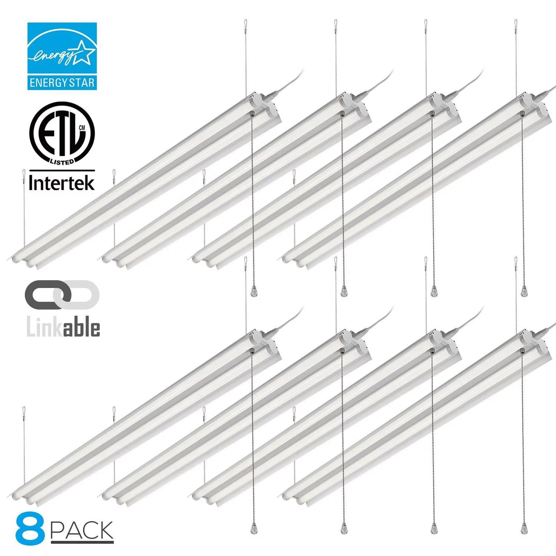 Leonlite 40w 4ft Linkable Led Utility Shop Light For
