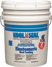 Kool Seal White Elastomeric Roof Coating