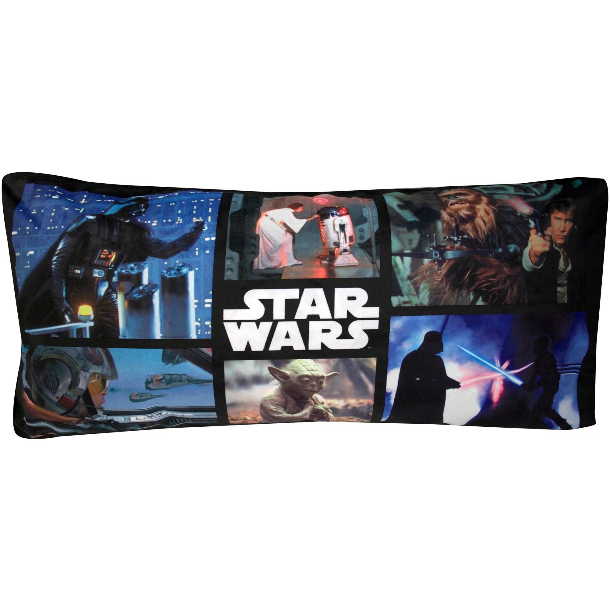 star wars classic trilogy body pillow walmart com
