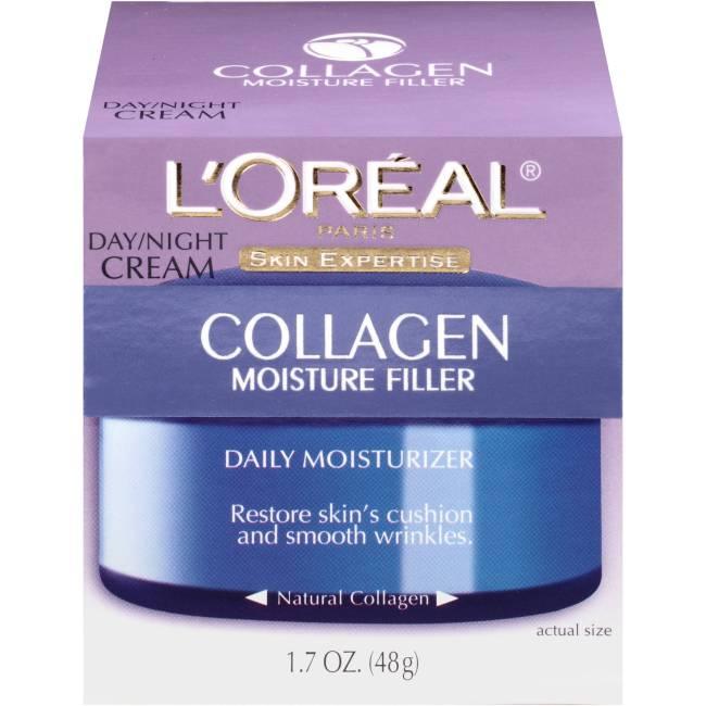 L'Oreal Paris Collagen Moisture Night Cream Face Moisturizer, 1.7oz