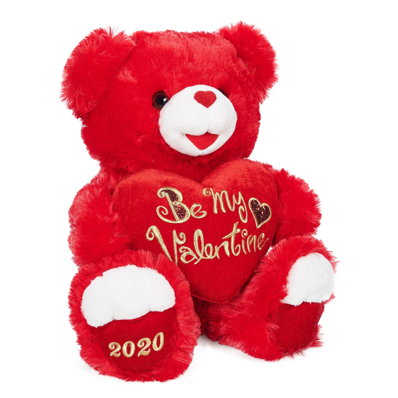 Teddy Bear 12 Inch Light My Fire Red Teddy Bear Plush Toy