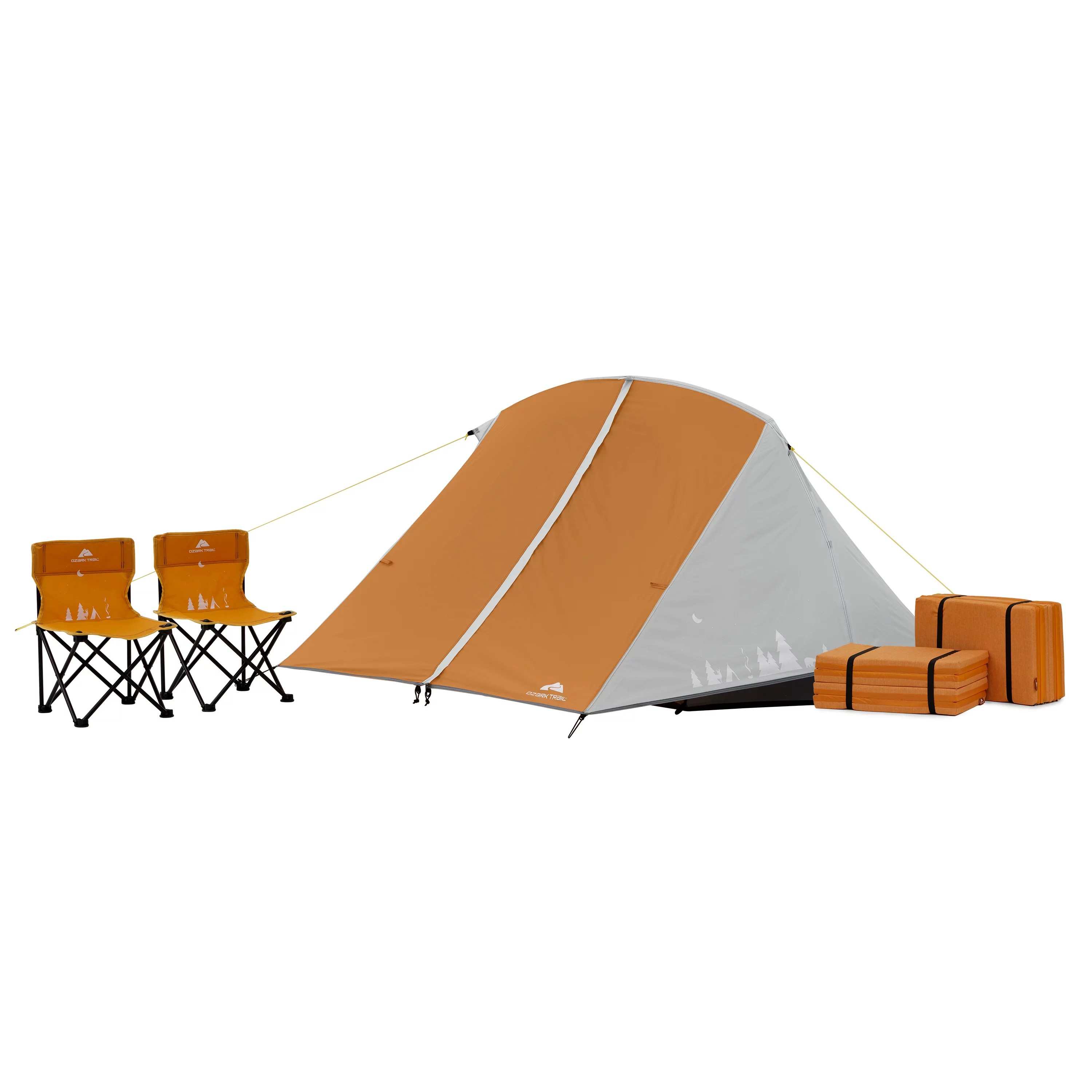 ozark trail kid s tent combo tent sleeping pads chairs included