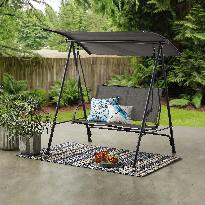 mainstays outdoor patio steel 2 person