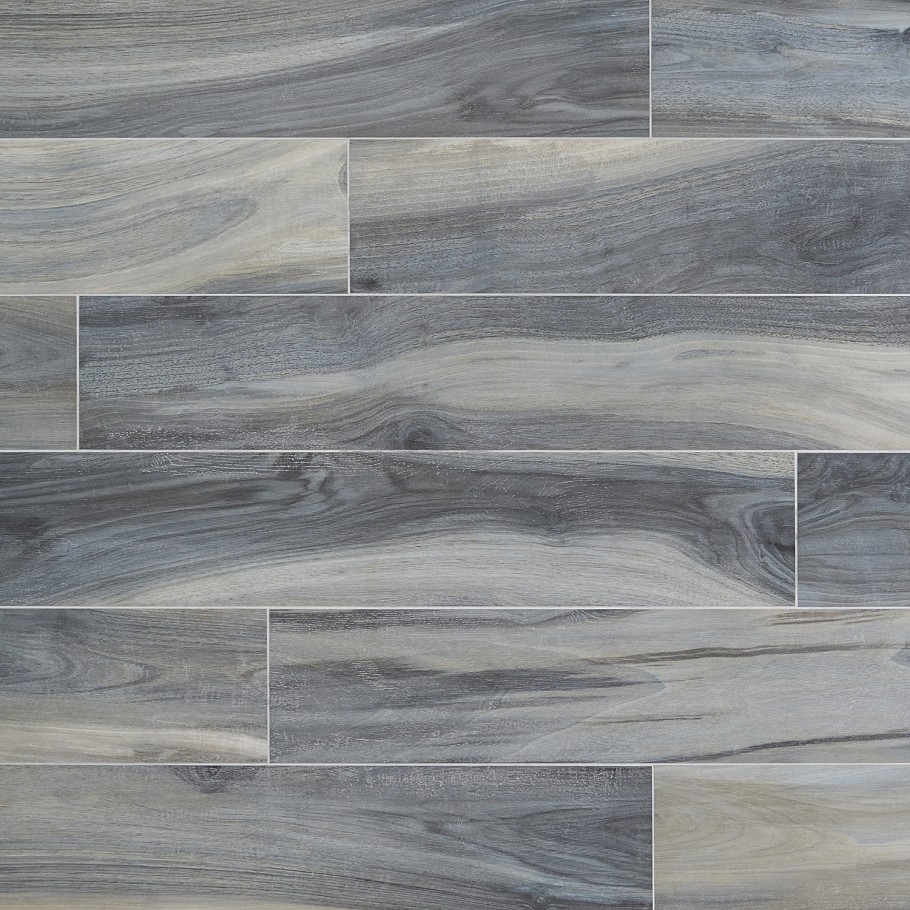 amazonas matte blue 8 in x 48 in porcelain floor and wall tile 4 pieces 10 32 sq ft case