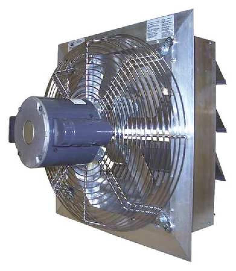 canarm ax42 7 exhaust fan industrial commercial 42 in