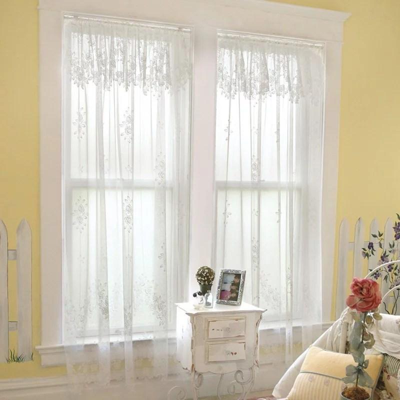 Heritage Lace Tea Rose Curtain Panel