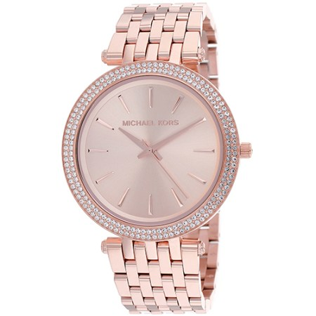 Michael Kors Women's Darci Rose Gold Stainless Steel Watch MK3192
