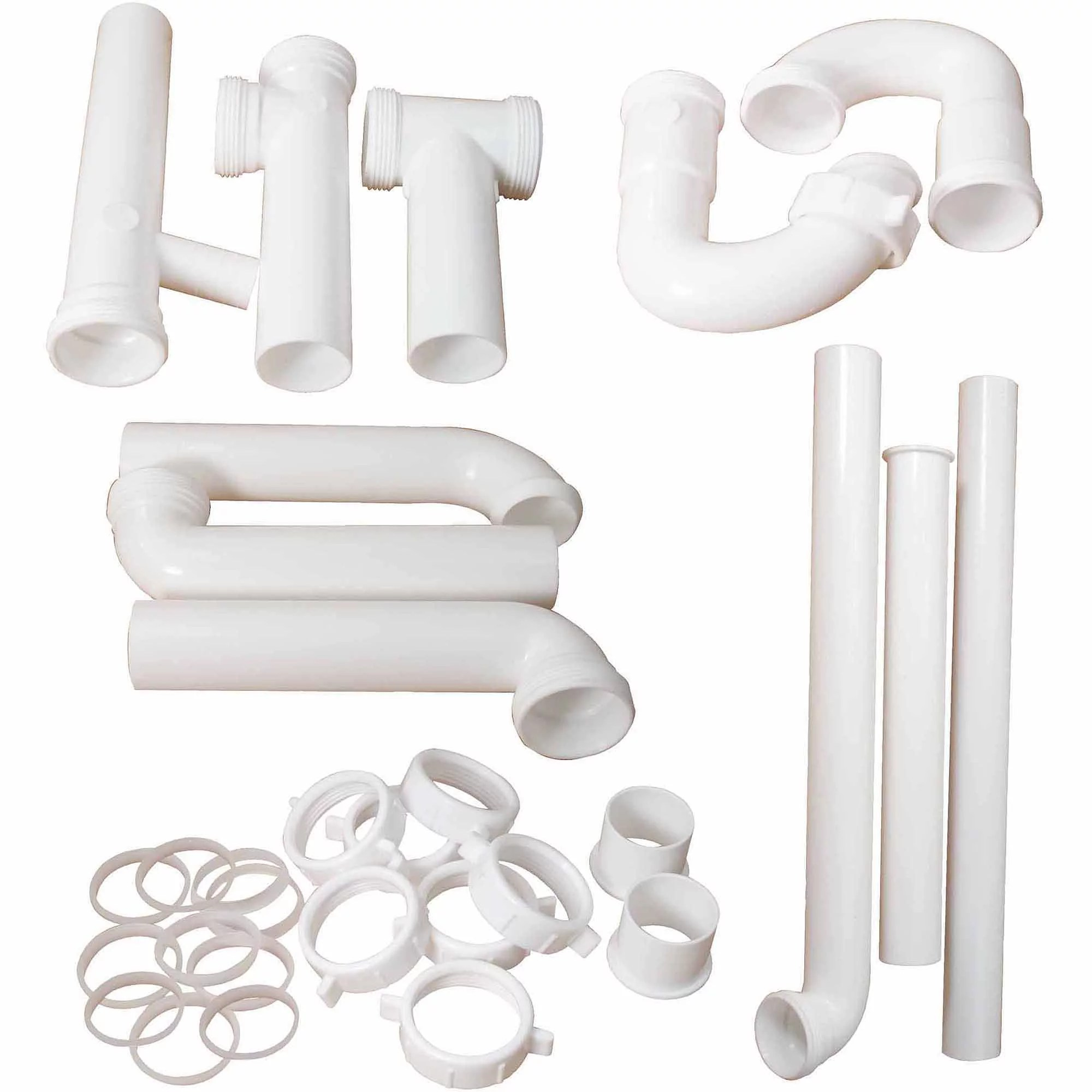 peerless cpvc universal kitchen lav trap kit with 1 1 4 in o d and 1 1 2 in o d drainage walmart com