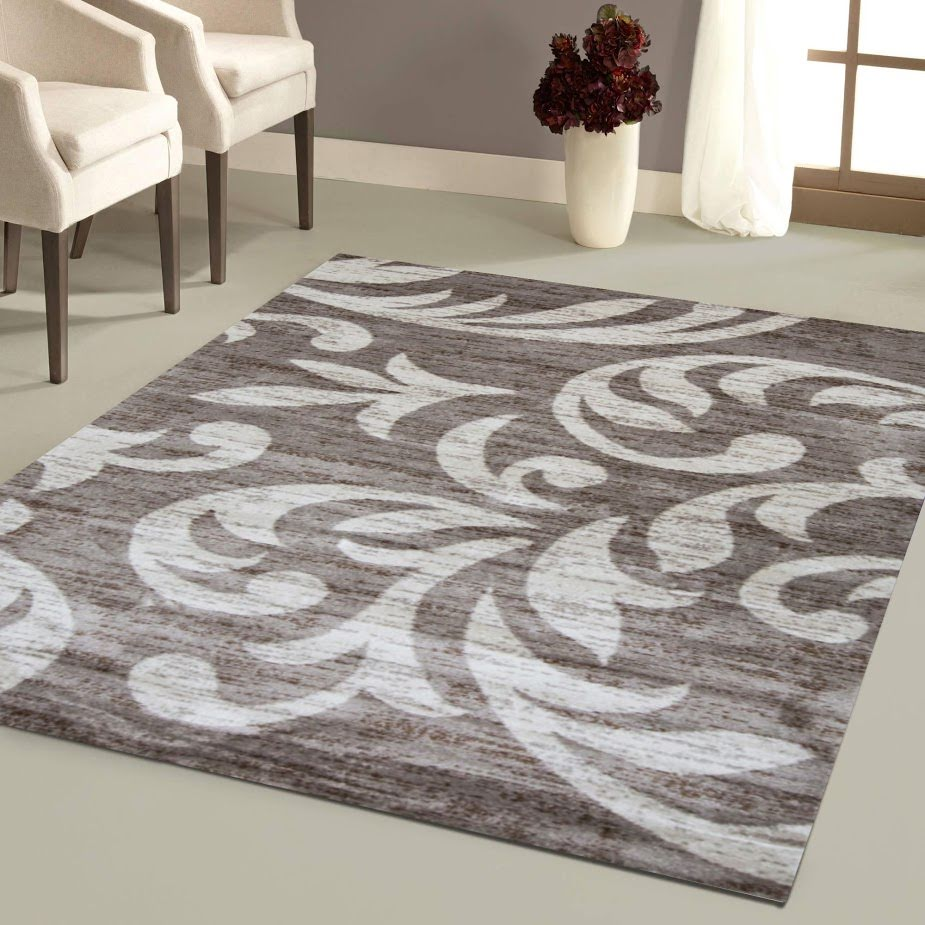 knoxville area rug f 7510 taupe cream 8 x 10