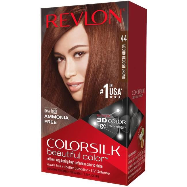 Reddish Brown Hair Dye Revlon Colorsilk Beautiful Color Permanent Hair