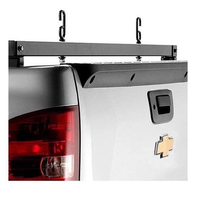 backrack 11522 ladder rack rear bar for 2019 chevy silverado 1500 gm