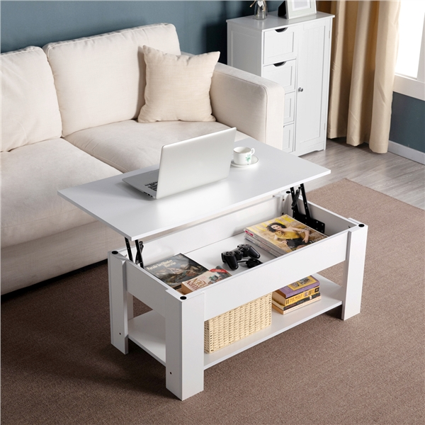 https www walmart com ip smilemart modern lift top coffee table with hidden compartment storage for living room reception room white 780842016