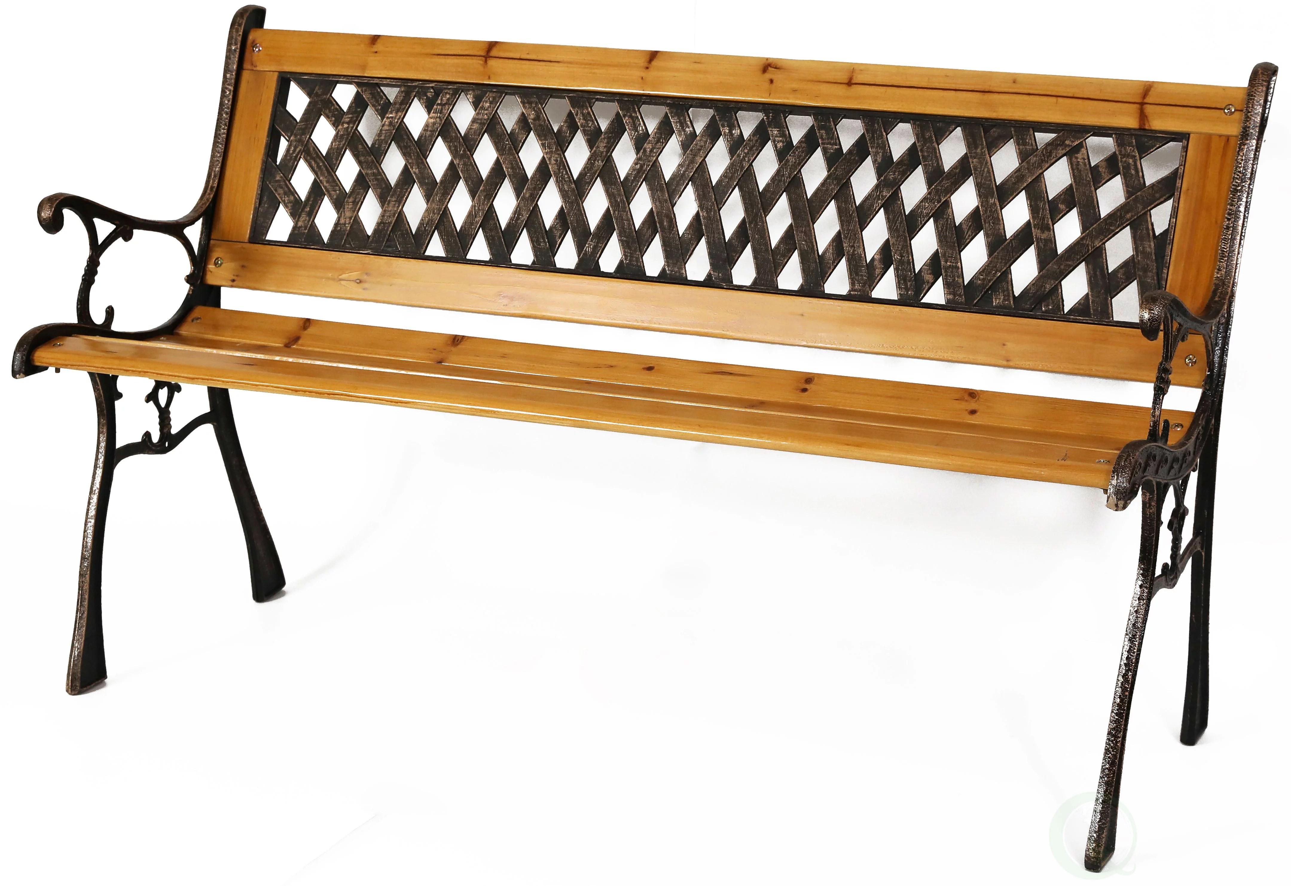 gardenised patio garden park yard 49 outdoor wooden bench