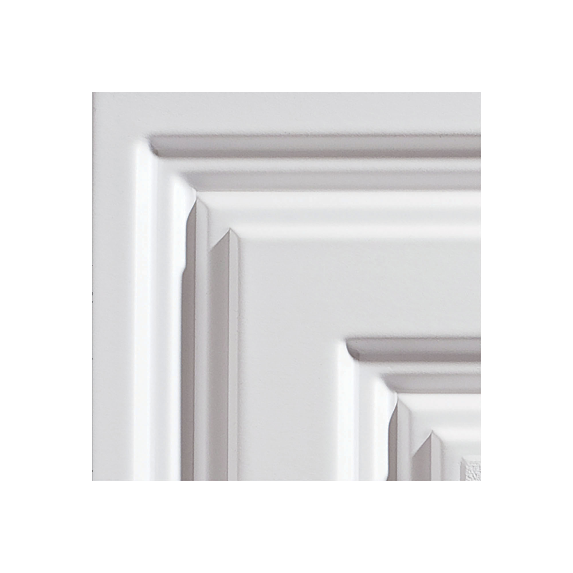 genesis icon relief white ceiling tiles easy drop in installation waterproof washable and fire rated high grade pvc to prevent breakage 12 x