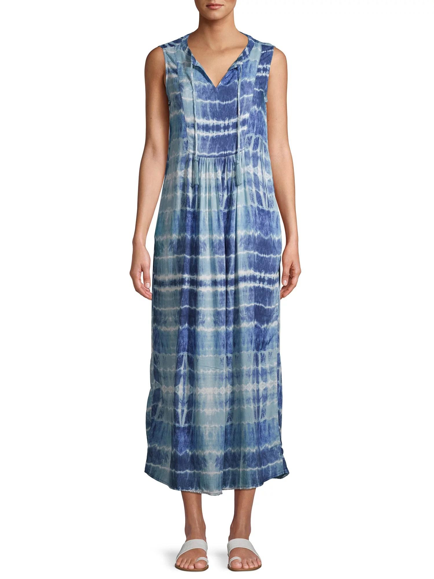 beachlunchlounge kamarin sleeveless maxi dress
