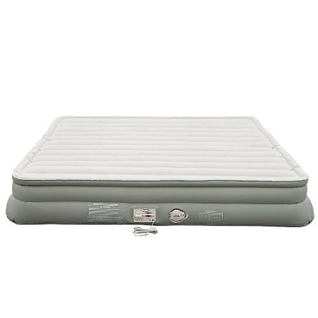 Aerobed 2000012050 King Elevated 14 Double High Airbed Inflatable Mattress