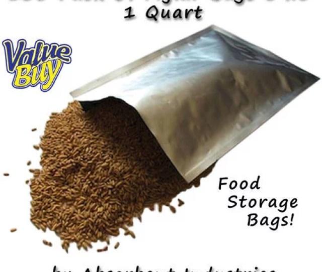 Dry Packs Pk Of Mylar  Quart Size Bags