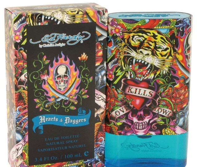 Christian Audigier Ed Hardy Hearts Daggers Eau De Toilette Spray For Men 3 4 Oz