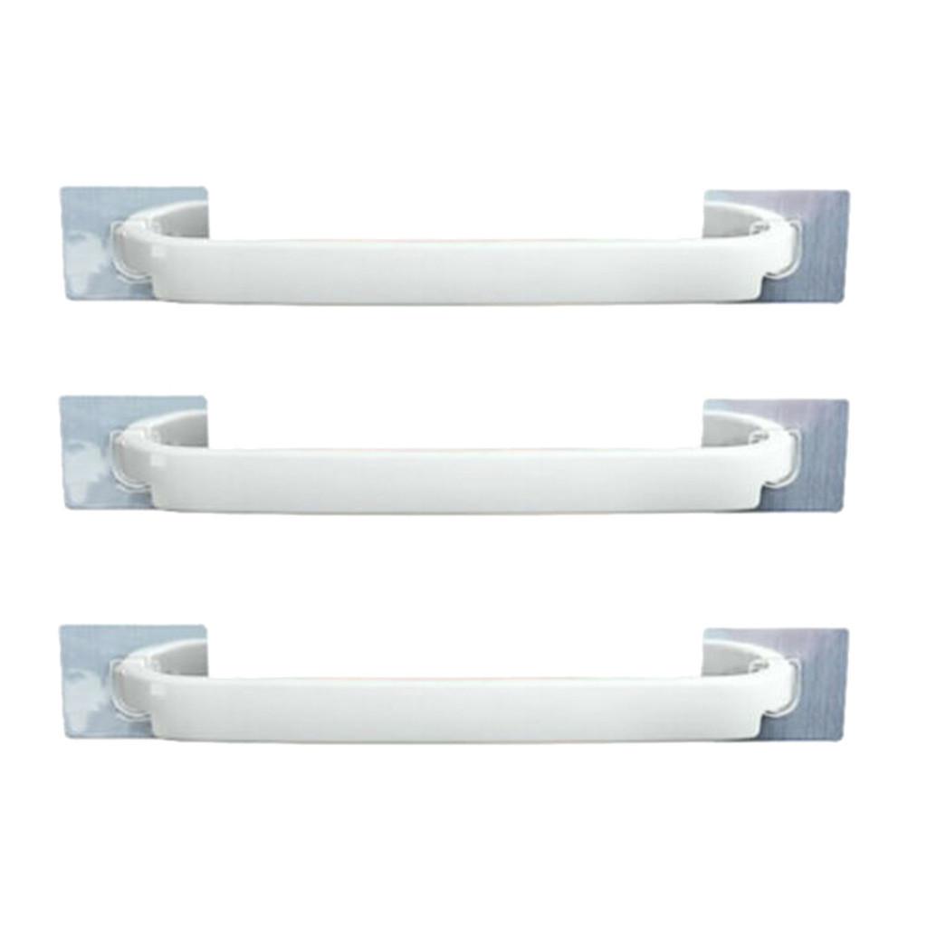 towel rack holder wall mounted bathroom self adhesive hanging hanger shelf