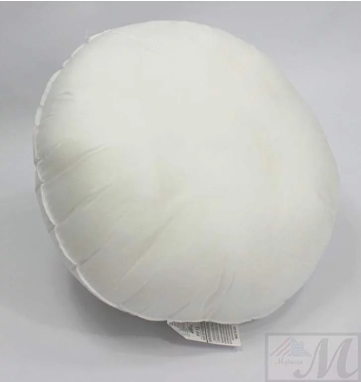 12 inch round pillow sham stuffer white hypoallergenic pillow insert premium made in usa