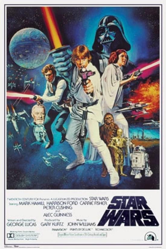 star wars poster print