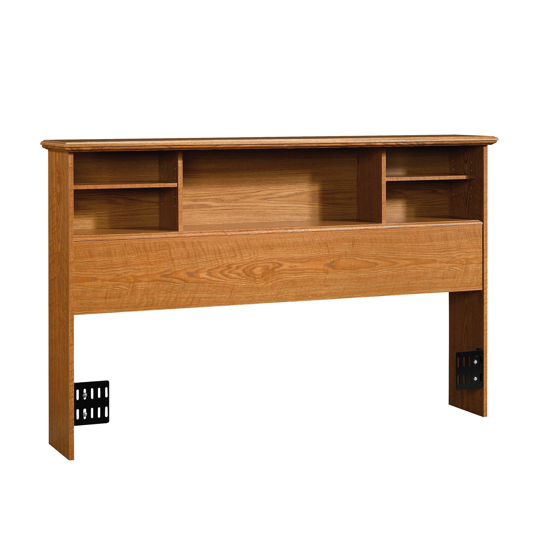 sauder orchard hills full queen bookcase headboard carolina oak finish walmart com