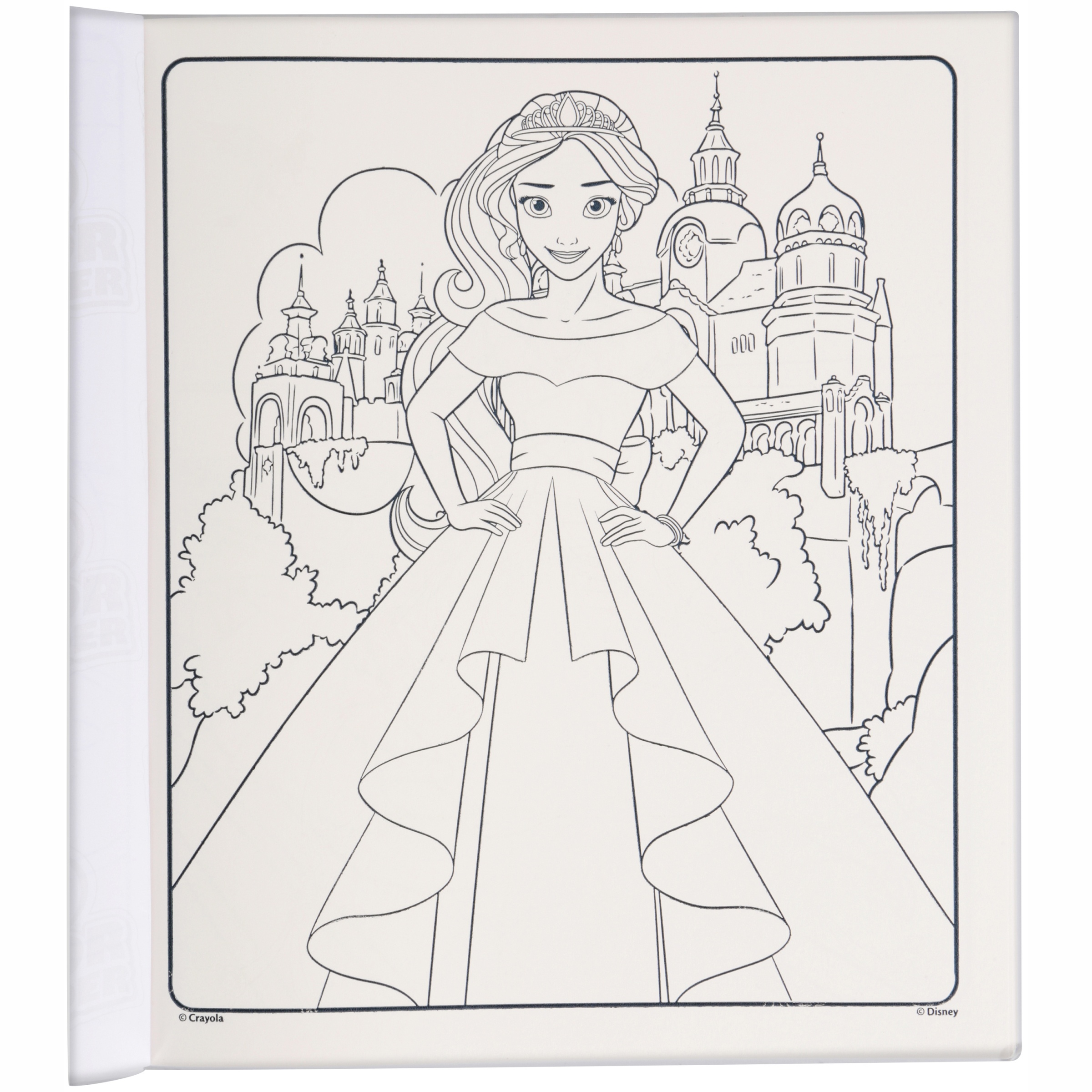 Crayola Disney Elena Of Avalor Color Wonder Mess Free™ Coloring