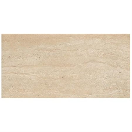 travertini 18 x 36 matte porcelain field tile in cream