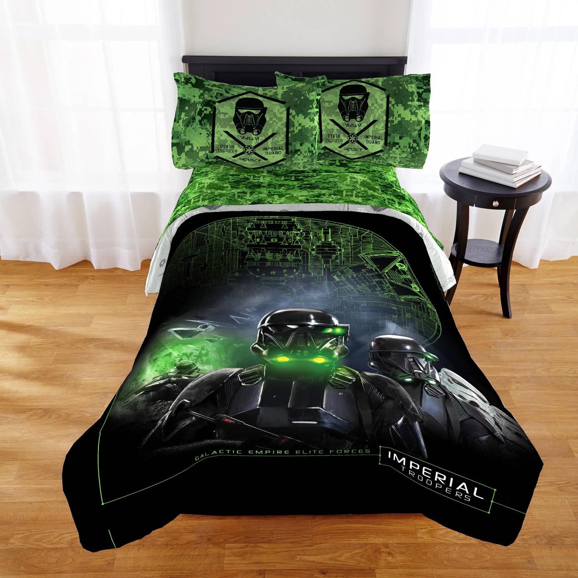 Star Wars Rogue One Bedding Comforter Walmart Com