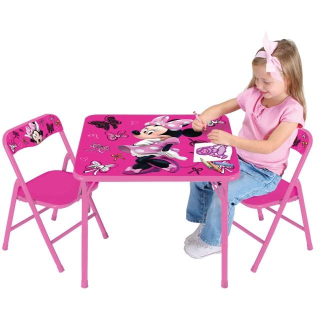 Disney Minnie Mouse First Fashionista Activity Table Set Walmart