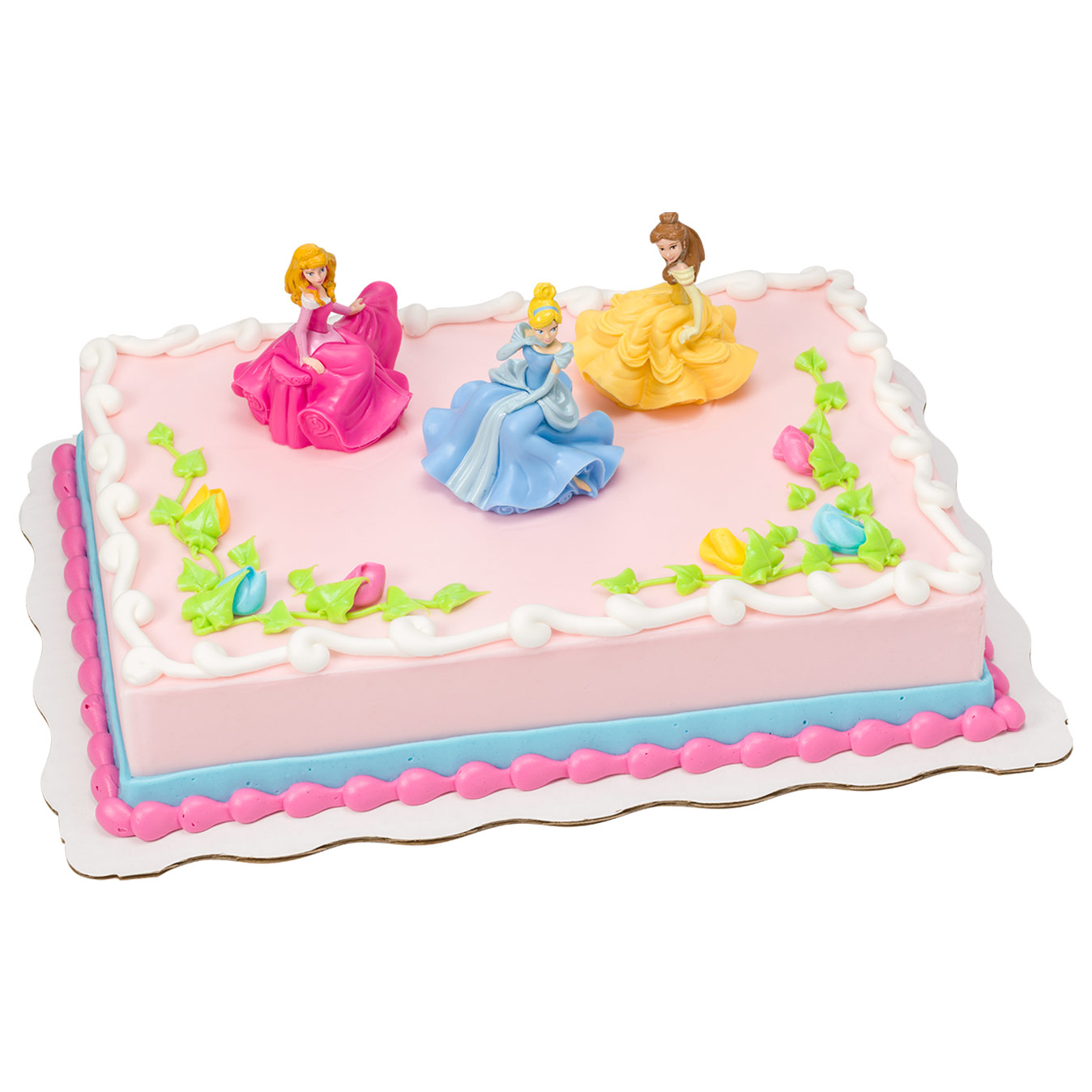 Disney Princess Once Upon A Moment Kit Sheet Cake Walmart Com Walmart Com