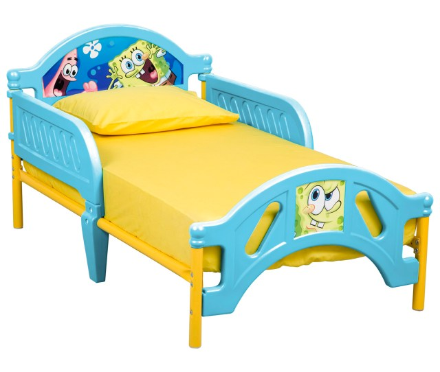 Spongebob Squarepants Plastic Toddler Bed