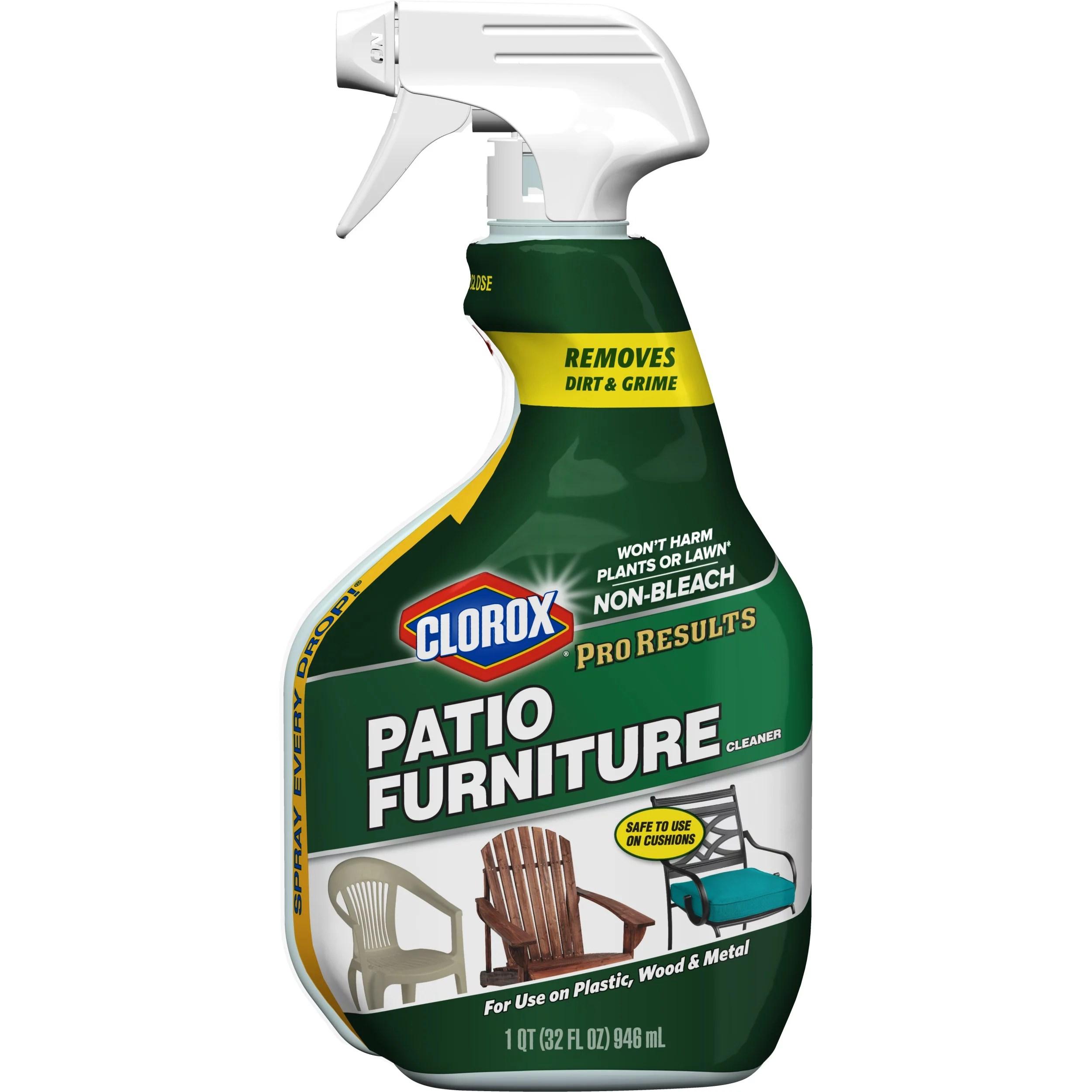 clorox pro results patio furniture cleaner 32 oz walmart com