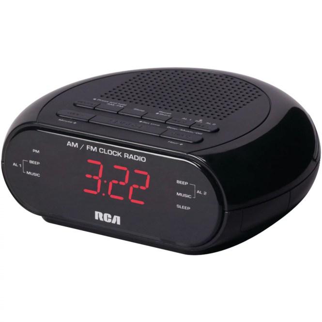 Rca Rc205 Dual Alarm Clock Radio With