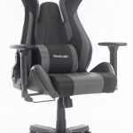 Viscologic M3 Ergonomic High Back Gaming Racing Style Pc Video Game Home Office Computer Chair Grey Black Walmart Canada