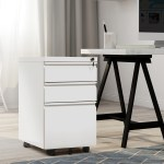 3 Drawers Steel Mobile File Cabinet Fully Assembled Structure Office Home Walmart Com Walmart Com