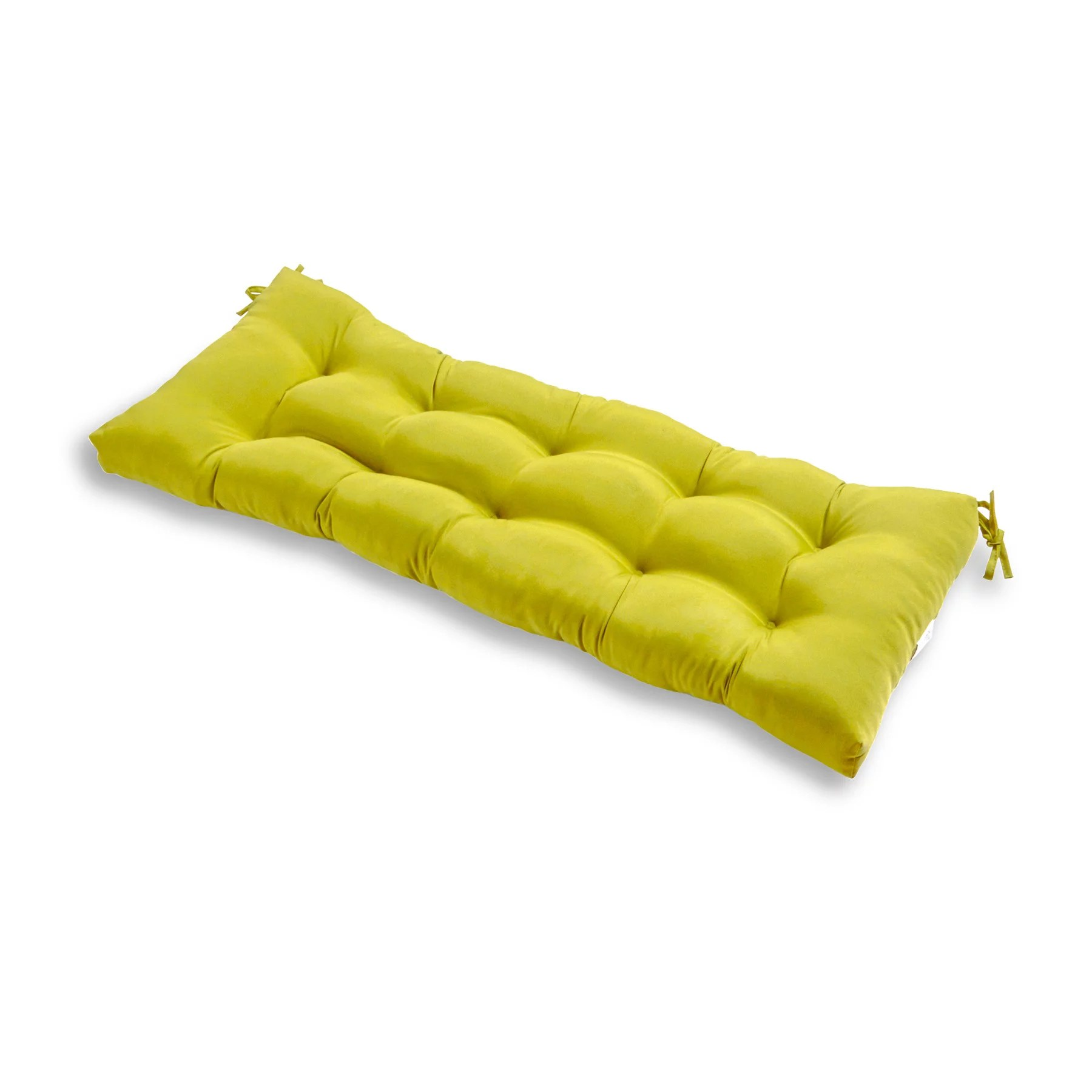 solid color 51 x 18 in outdoor bench cushion